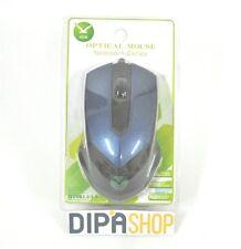Mouse Ottico FC-3013 Con Filo Usb 3200dpi Gaming Blu Pc Notebook hsb