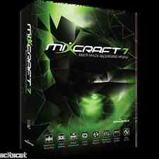 New Acoustica MIXCRAFT 7 Mixcraft is The Musician's DAW - Full Boxed Software