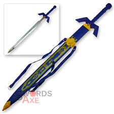 Legend of Zelda Link's Master Sword Hylian Triforce Replica Skyward Ocarina Time