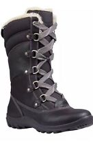 Women's Timberland Mount Hope Mid Waterproof Snow Boots Black Color 8709R 11M