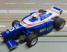 per slot car Racing Modellismo ferroviario Formula 1 Williams mit Tyco Motor