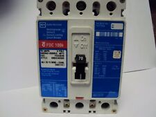 CUTLER HAMMER  FDC3070L 70 amp 3 pole CIRCUIT BREAKER Voltage 600
