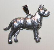 Pit Bull Terrier PITBULL Dog Harris Fine Pewter Pendant USA Made