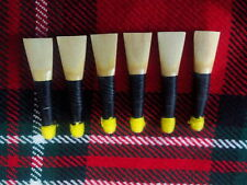 Scottish Great Highland Bagpipe Can Reed 6 Pcs/Bagpipes Reeds ready to Play