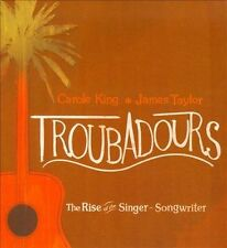 TROUBADOURS: RISE OF SINGER/SONGWRITER -VAR (CD&DVD) SEALED TAYLOR KING RAITT EJ