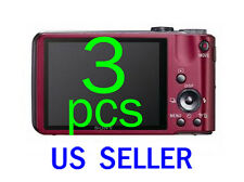 3pcs Clear LCD Screen Protector Cover Guard Shield For Sony CyberShot DSC-HX7V