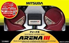 MITSUBA Arena III Car Horn MBW-2E23R JAPAN Red Made in Japan High End model