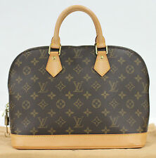 Used Authentic Louis Vuitton Alma LV Bag Monogram