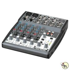 Behringer Xenyx 802 8-Input 2-Bus 3-band EQ Analog Mixer w/ Mic Preamps