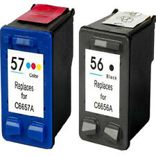 Non-OEM Replaces 56 & 57 For HP DeskJet 5145 5150 5151 5160 Ink Cartridges