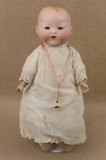 "14"" antique bisque head German Armand Marseille Dream Baby Doll"