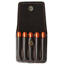 Tourbon Rifle Bullet Wallet Cartridges Pouch Genuine Leather Belt Hunting in USA