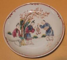 Chinese export porcelain chinese figures soucoupe C1760