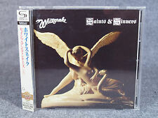 Whitesnake / Saints & Sinners SHM-CD UICY-20238 Obi Japan