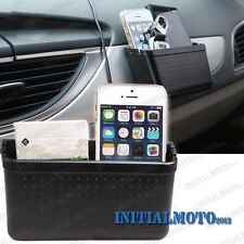 Car Mobile Cell Phone Charging Hole Garbage Storage Box Container Seat Organizer