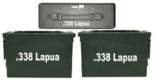 """338 Lapua Ammo Box(decals) Two 8""""x1.5 One 3""""x0.75"""" No Box Included"""