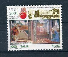 Italia 2001 Italia in Giappone rassegna culturale economica e scientifica  MNH
