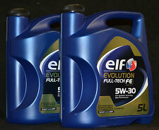 2x5 Liter Elf EVOLUTION FULL-TECH FE ( SOLARIS DPF ) 5W-30 Motoröl Renault 5W-30