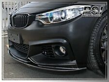 3D Style Carbon Fiber Front Lip BMW F32 420i 428i 435i Coupe w/ M Sports 2014+