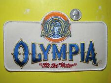 BEER PATCH OLYMPIA BEER PATCH OLY LARGE SIZE LOOK AND BUY NOW!!*