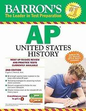 BARRON'S TEST PREPARATION AP UNITED STATES HISTORY 2ND SECOND EDITION
