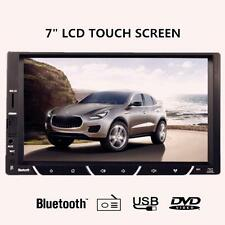 Bluetooth 7'' HD LCD 2 DIN Car Radio Dash MP3 Audio Video Player Touch Screen