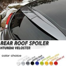 Glass Wing Roof Rear Spoiler Varies Color for HYUNDAI 2011 - 2016 Veloster