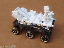 2014 Hot Wheels MARS ROVER CURIOSITY 71/250 Planet Heroes LOOSE White