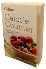 Collins Calorie Counter Book Plus Protein, carb, fat and fibre scales watch burn