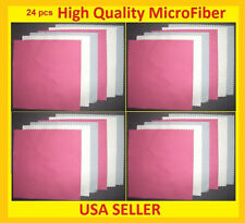 24 pc MICROFIBER LENS CLEANING CLOTH for Camera NIKON L840 L830 L820 P600 P520 +