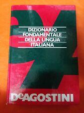 DIZIONARIO FONDAMENTALE DELLA LINGUA ITALIANA - DEAGOSTINI 1982
