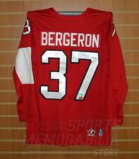 Patrice Bergeron Boston Bruins Signed Autographed Olympic Team Canada Jersey