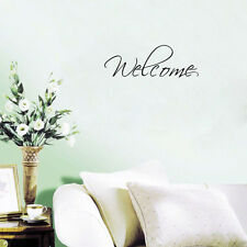 Welcome Removable Quote Wall Sticker Art Vinyl Decal Home Entrance Hall Decor