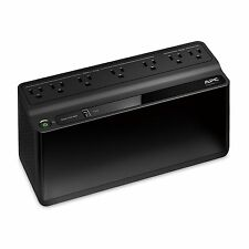 APC BE600M1 Back-UPS 600VA 7-outlet Uninterruptible Power Supply (UPS) with U...
