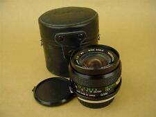 Vivitar 28mm f2 MC lens for Olympus OM Used manual focus