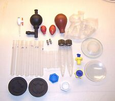Lab Glass/Test Tubes, Stoppers mixed lot Laboratory Equipment/Accessories