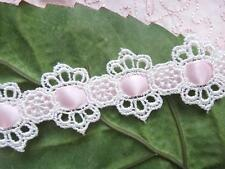 NEW Victorian Venise Lace Beading Trim~1/4 inch~ sell by yard ~Pillow cottage