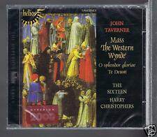 JOHN TAVERNER CD NEW MASS THE WESTERN WYNDE/ THE SIXTEEN H. CHRISTOPHERS