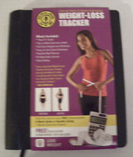 NEW! GOLD'S GYM Weight Loss Tracker BONUS calculator & measuring tape included