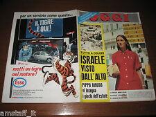 OGGI 1967/29=ISRAELE=PIPPO BAUDO=FIDEL CASTRO=VIVIEN LEIGH=TWIGGY=ALBERTO LUPO=