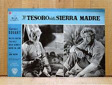 IL TESORO DELLA SIERRA MADRE fotobusta poster Huston Holt Bogart The Trasure of