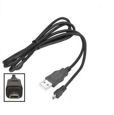 USB DATA SYNC/PHOTO TRANSFER CABLE LEAD FOR Panasonic LUMIX DMC-TZ3
