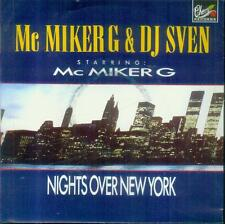 "7"" MC Miker G & DJ Sven/Nights Over New York (Belgium)"