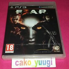 FEAR 3  SONY PS3  NEUF SOUS BLISTER VERSION 100% FRANCAISE