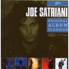 "JOE SATRIANI ""ORIGINAL ALBUM CLASSICS"" 5 CD BOX NEU"