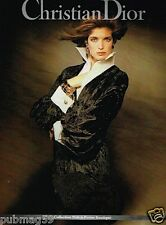 Publicité advertising 1991 Haute couture Christian Dior
