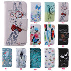 Magnetic Flip Patterned PU Leather TPU Stand Wallet Phone Case Cover For iPhone