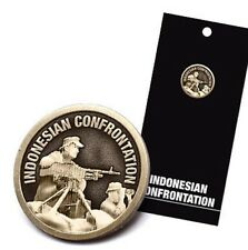 Indonesian Confrontation Lapel Pin *Remembrance Day *ANZAC Day