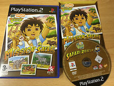 PS2 go diego mission safari