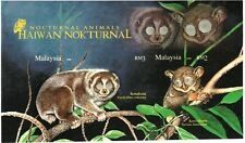 Malaysia 2008 Nocturnal Animals ~ MS Imperforated